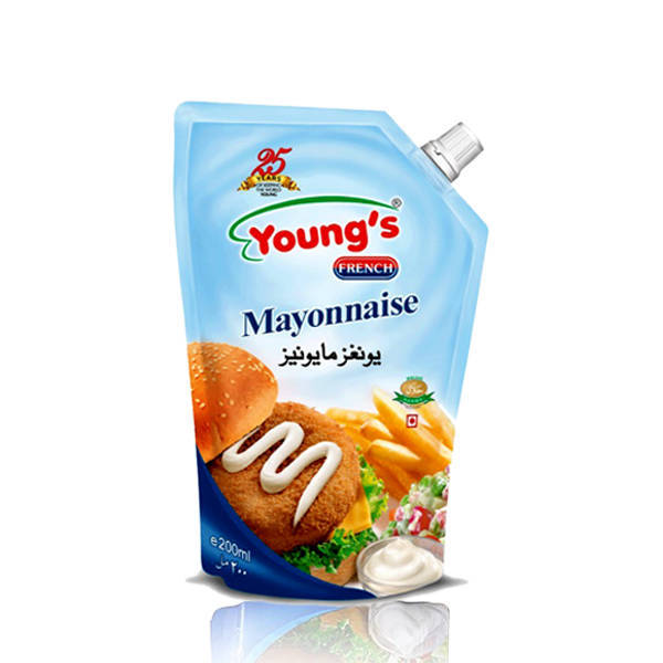 Youngs French Mayonnaise Pouch 500ml