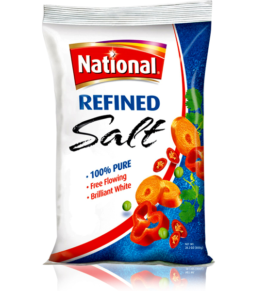 National Table Salt 800gm